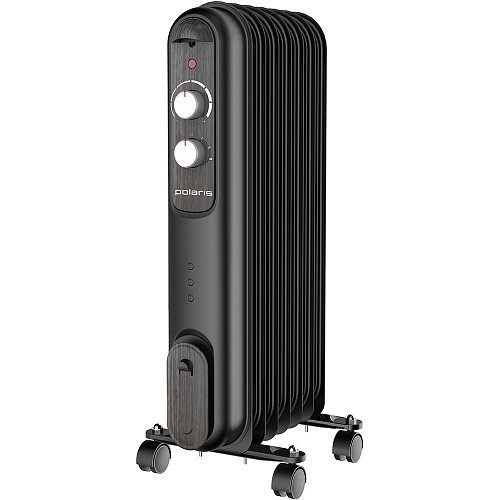 Чёрный радиатор Polaris CR V 0715 COMPACT